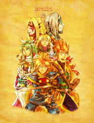 Golden Sun - Book One by neshirys