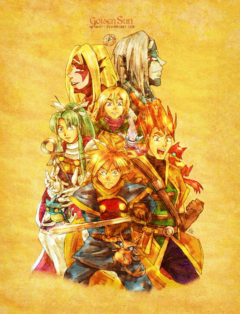 Golden Sun - Book One by neshirys