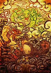Pokemon ORAS - The Legends of Hoenn by neshirys