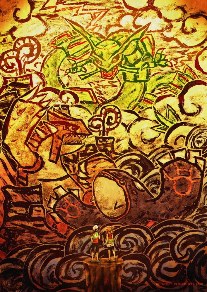 Pokemon Oras The Legends Of Hoenn By Neshirys On Deviantart