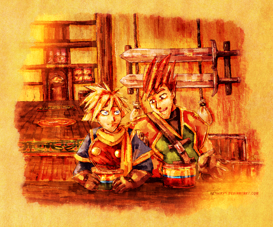 Golden Sun - Inn Talks by neshirys