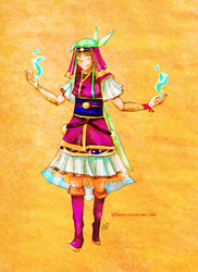 Lana of Lemuria by neshirys