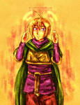 Golden Sun - Wind Pilgrim Ivan