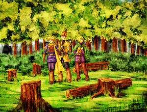 Golden Sun - Kolima Forest