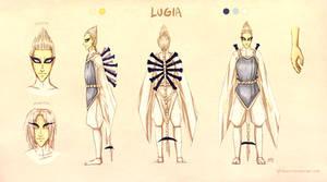 Lugia Gijinka - Concept by neshirys