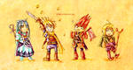 Golden Sun - Chibi Team One