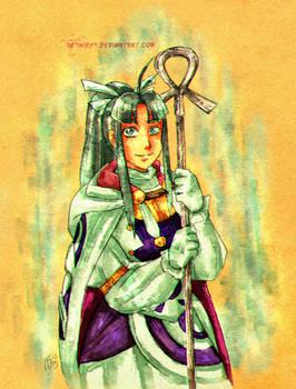 Golden Sun - Water Cleric Mia