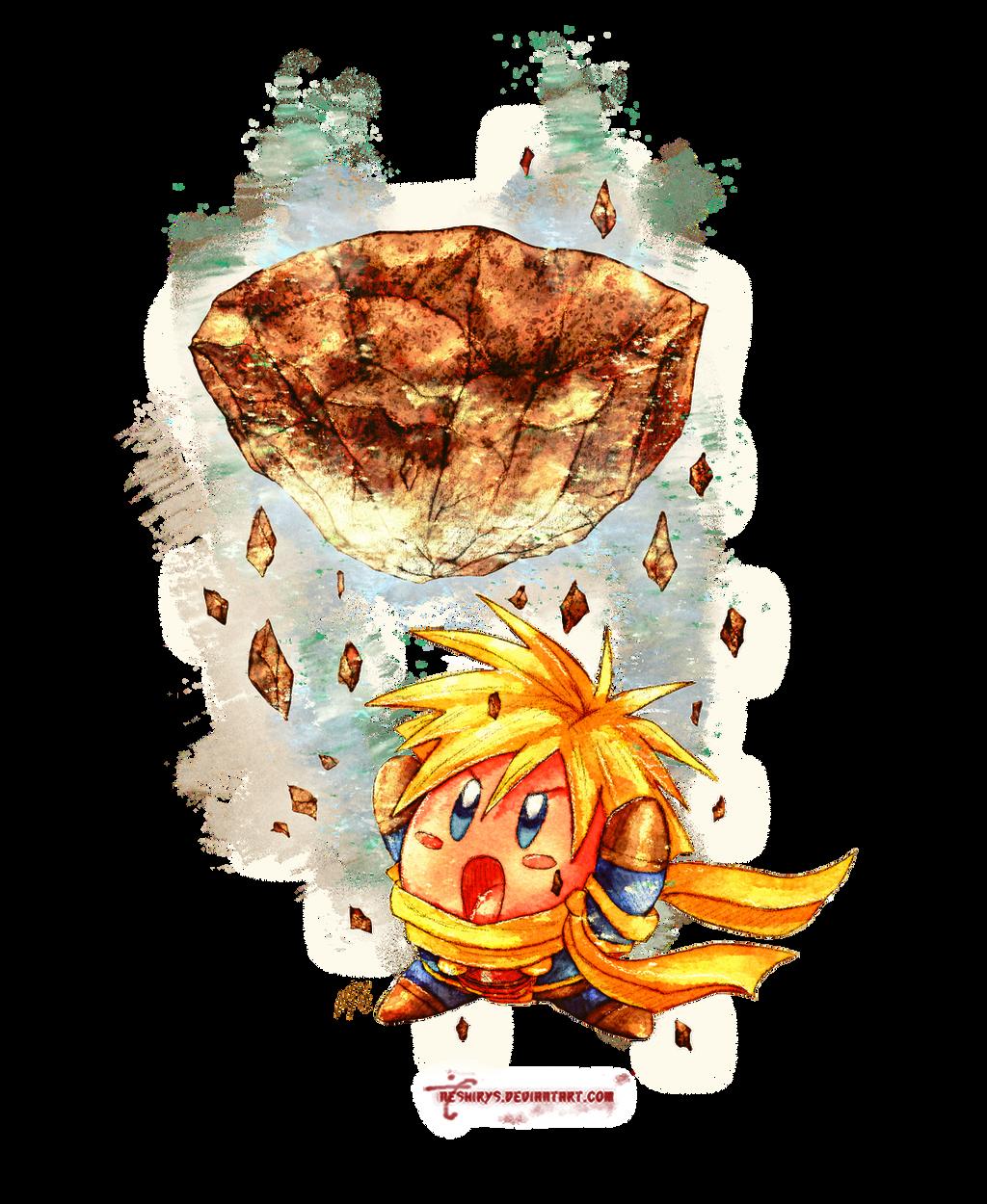 Golden Sun - Kirby Isaac by neshirys