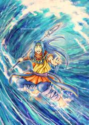 Tich the Tide Warden by neshirys