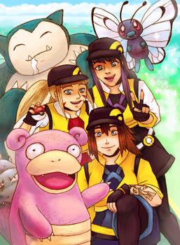 Pokemon Go Trio - Birthday Collab
