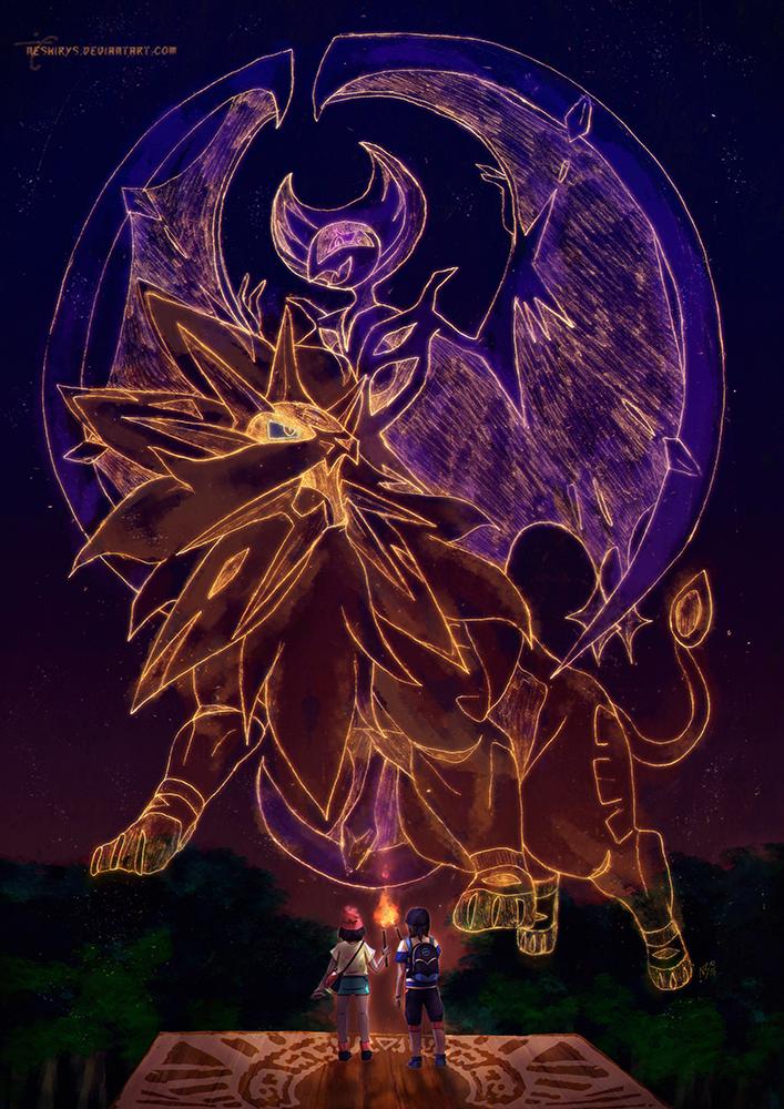 Pokemon Sun Moon -The Legends of Alola by neshirys