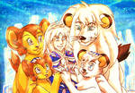 Kimba Family and Elysios