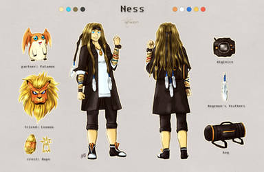 Ness - Concept by neshirys