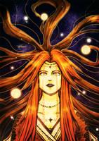 Lady of the Dawn Sky by neshirys