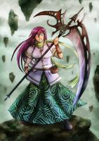 Adria the Wind Fury by neshirys