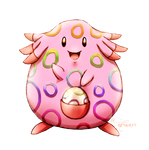 Eggstravagant Chansey - Easter Pokemon