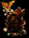 Coalossal and Patamon - Animal Crossing