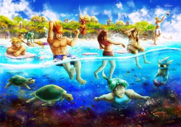 Golden Sun Beach - Reefs Of Yallam
