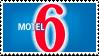 MOTEL 6 stamp (f2u) by 47ch