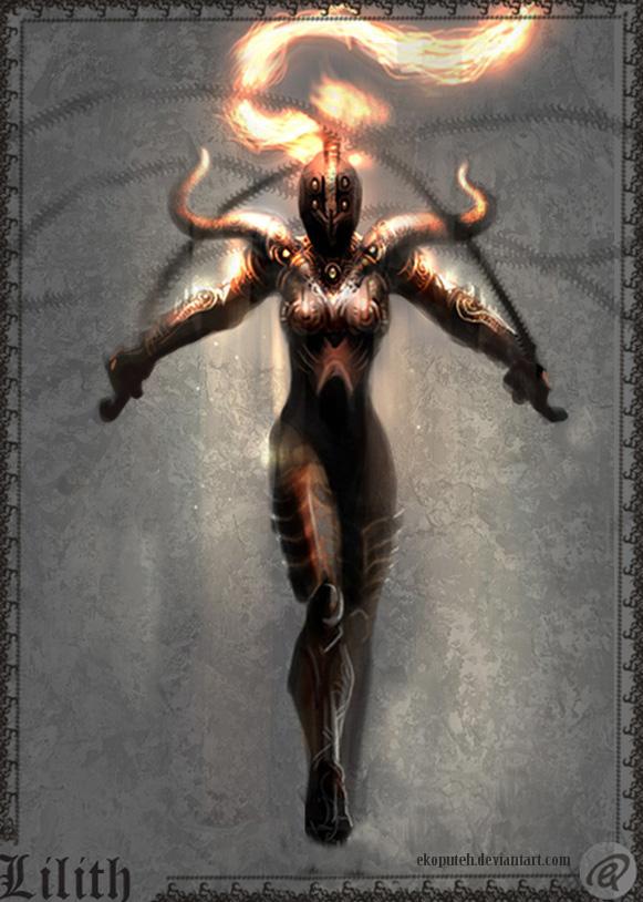 Hell Knight-lilith by Ekoputeh