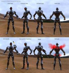 Villain Androids#2
