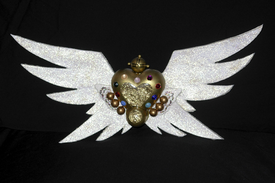 Eternal Sailor Moon locket by Strandin
