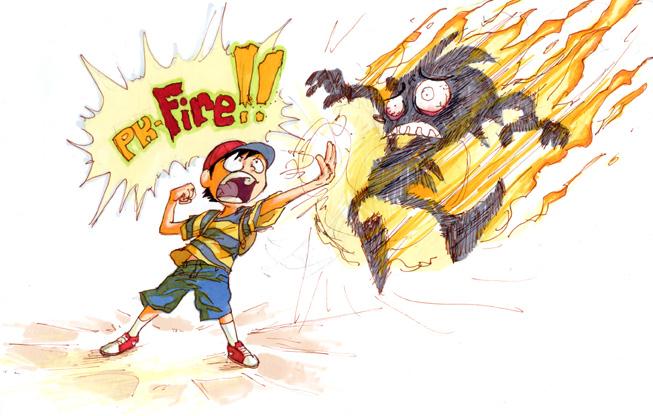 PK DIE IN A FIRE by el-roacho