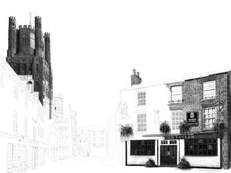 The Minster Tavern Pub, Ely - WIP