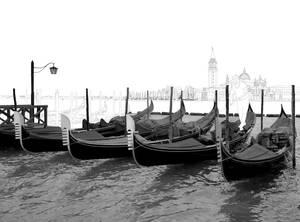 Gondolas in Venice WIP