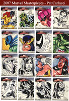 Marvel Masterpieces 2007 by PatCarlucci