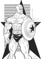 Captain America -Not forgotten by PatCarlucci