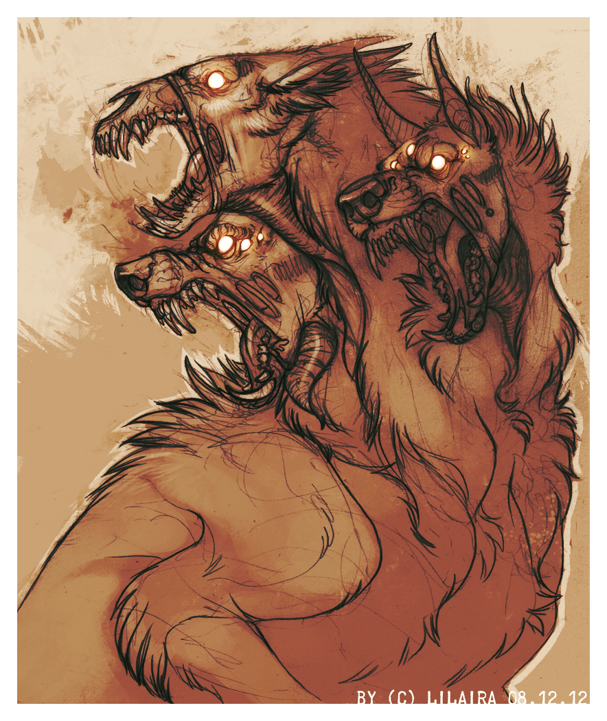 Cerberus by LiLaiRa on deviantART