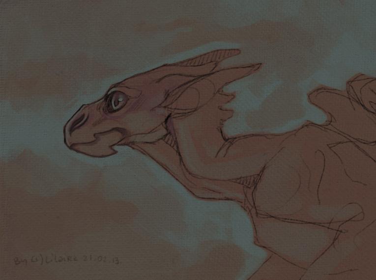 Gargoyle by LiLaiRa