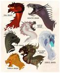 Halloween Dragons