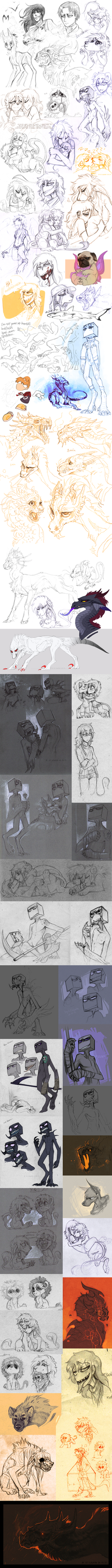 Sketch dump 52 by LiLaiRa