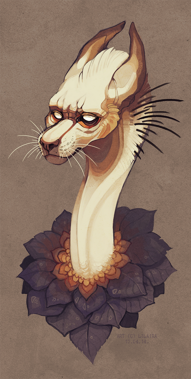 White whiskers by LiLaiRa