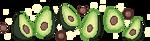 Avocado Family by LiLaiRa