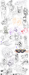 Sketch dump 58 by LiLaiRa