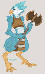 Tico Avian Character by LiLaiRa