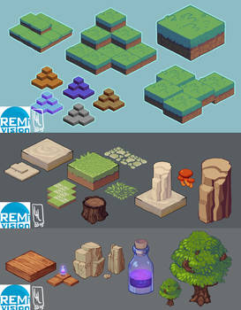 Isometric Map Attempts