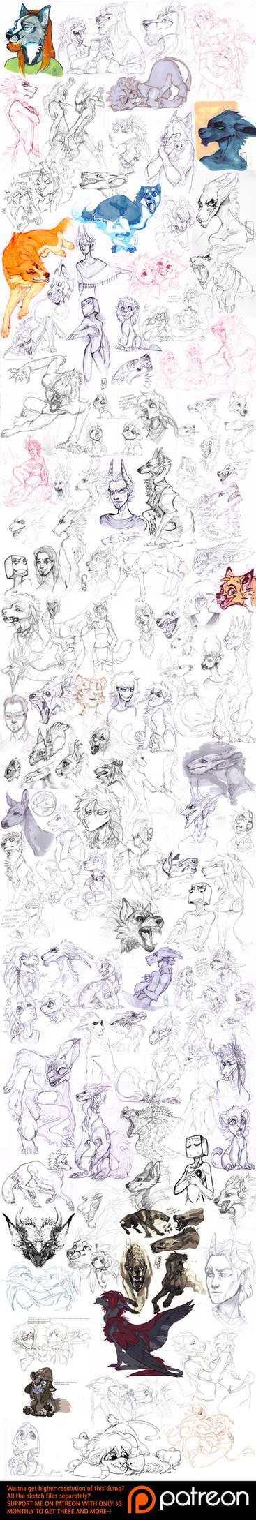 Sketch dump 60