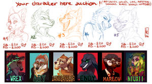 YCH BADGE AUCTION OPEN!