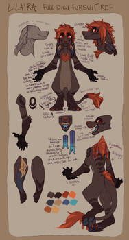 LiLaiRa fursuit reference (UPDATED)