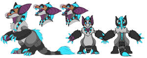 fursuit design for sale! by LiLaiRa