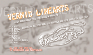 Vernid reference linearts FOR SALE