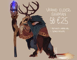Elder Vernid AUCTION LAST HOUR! by LiLaiRa