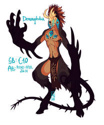 Demonophobia Demon AUCTION by LiLaiRa