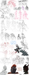 Sketch Dump 65 by LiLaiRa