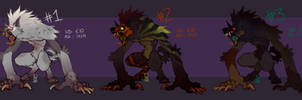 Spooky Werewolves AUCTION by LiLaiRa