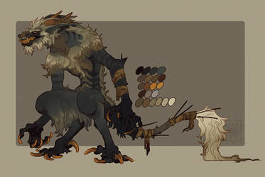 Custom Vernid for Maddygator by LiLaiRa